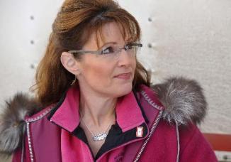 Closeup of Sarah in Parka