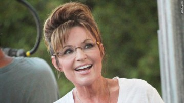 Closeup of Sarah smiling at Iowa State Fair