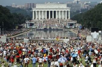 Crowd at Restoring Honor Rally