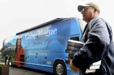 Sarah Palin Signs Copies Of Her Memoir At Fort Bragg