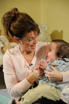 Governor Palin and Trig