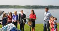 Governor Palin's Announcement Full Shot