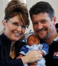 Alaska Governor Baby