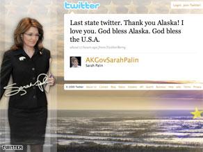 Last State Twitter - AKGovSarahPalin