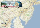 Map of One Bus Tour Stops