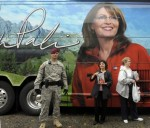 Sarah Palin Signs Copies Of Her Memoir At Fort Bragg