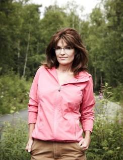 Newsweek Photo Shoot - Closer View of Sarah in Wildflower Field