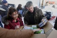 Palin and Graham in Rural Alaska