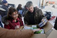 Palin and Graham in Rural Alaska