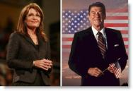 Palin and Reagan Photos Side-by-Side
