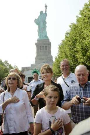 Sarah Palin, Piper Palin, Sally Heath, Chuck Heath