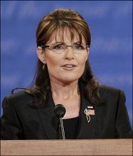 Palin (or Fey) Closeup at Debate