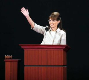 Palin_waving-RNC- podium