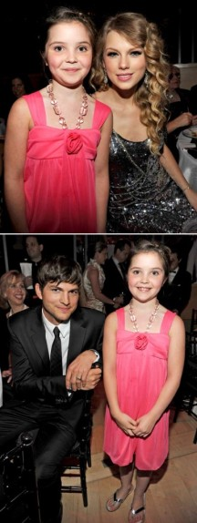 Piper and Ashton Kutcher at 2010 Time 100