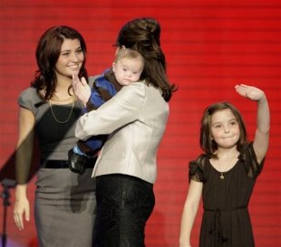 Sarah Palin, Piper Palin, Trig Palin, Willow Palin