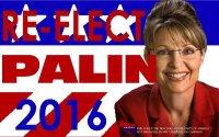 Re-Elect Sarah Palin 2016