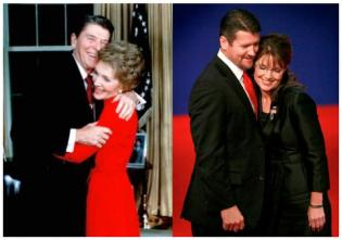 Reagan and Palin and Spouses