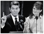 Reagan and Palin Pointing