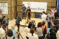 Samaritans Purse News Conference - Haiti