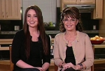 Sarah and Bristol on Oprah 01-22-10