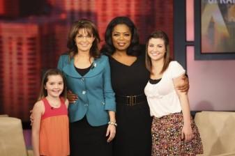 Sarah and Daughters and Oprah