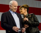 Sarah and John McCain Asiide