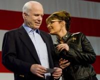 Sarah and John McCain Asiide