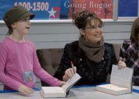 Sarah and Piper at Elmendorf Book Sigining