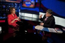 Sarah and Sean Hannity