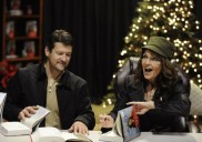 Sarah Palin attends book signing in Virginia with husband Todd