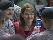 Sarah and Track at Strykers Welcome Home Ceremony