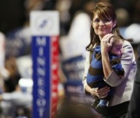 Sarah and Trig at RNC Convention