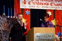Sarah at 2009 Chanukah Arts Festival in Alaska
