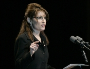Sarah at Evansville Speech Pointing for Emphasis