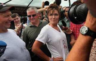 BESTPIX Republican Candidates Campaign At Iowa State Fair