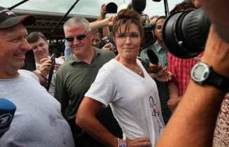 BESTPIX Republican Candidates Campaign At Iowa State Fair