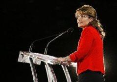 Sarah at podium at SRLC