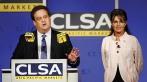 Sarah being introduced at CLSA