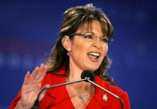 Sarah gesturing during SLRC speech