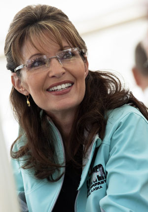 ALASKA GOVERNOR SARAH PALIN IS PICTURED WHILE SERVING HOT DOGS AT THE ANNUAL GOVERNOR_S PICNIC IN FAIRBANKS_ ALASKA