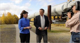 Sarah Palin and Alaska Pipeline 2