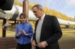 Sarah Palin and Alaska Pipeline