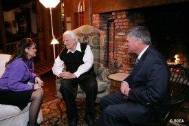 Sarah Palin and Billy Graham and Franklin Graham