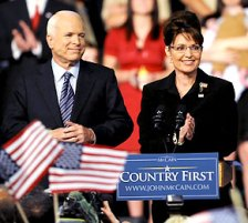 Sarah Palin and John McCain 08-29-08