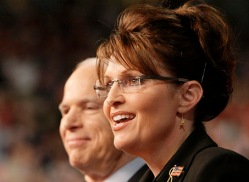 John McCain, Sarah Palin