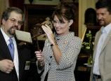 Sarah Palin and Todd at Seward House