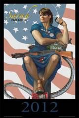 Sarah-Palin-Immortalized-With-Remington-870-Pump