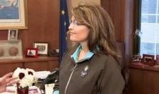Sarah Palin Israel flag