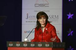 Sarah Palin speaks at India today Conclave