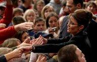 Sarah Reaching Into Crowd
